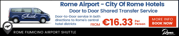 Rome Airport Hotel Shuttle Bus