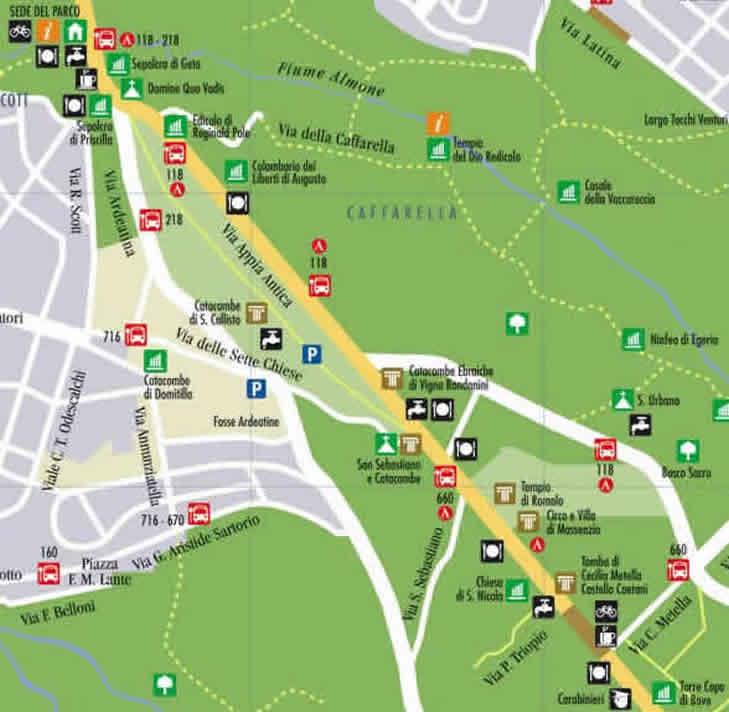 Appian Way Bus Tour