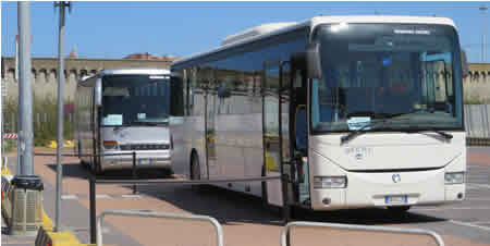 Civitavecchia Port Complementary Cruise Ship Shuttle Bus