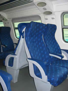Civitavecchia Train Interior