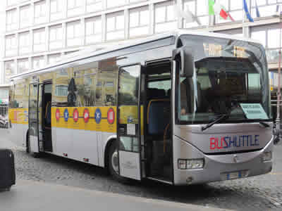 SIT Rome Airport Bus At Termini Station