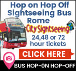 Rome Hop On Hop Off Sightseeing Buses