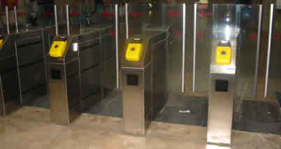 Rome Metro Ticket Barriers