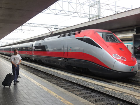 Frecciarossa Train - Rome to Naples In 70 Minutes