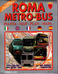 Rome Transport Map On Sale In Rome
