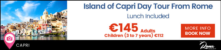 Island of Capri Day Tour from Rome Tickets & Prices