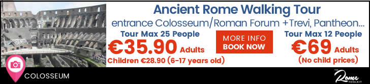Ancient Rome Walking Tour Prices