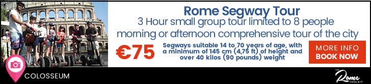 Colosseum & Roman Forum Segway Tour Prices