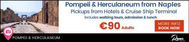 Day Tour From Naples To Pompeii & Herculaneum