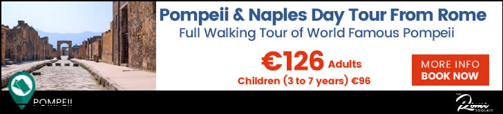 Pompeii Day Tour from Rome Tickets & Prices