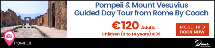 Pompeii and Mount Vesuvius Day Tour from Rome Tickets & Prices