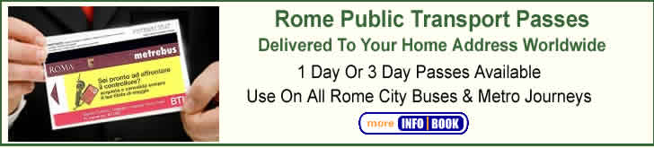 Rome Public Transport Pass