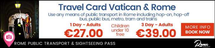 Roma Cristiana Rome Tour Bus Plus Public Transport Pass
