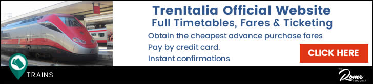 TrenItalia Timetables & Ticketing